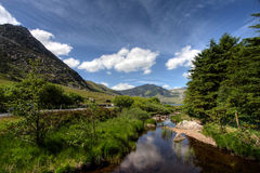 View to the Devils Kitchen Stock Images
