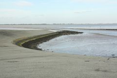 View to the Dollard. The Netherlands Royalty Free Stock Photography