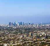 View to Downtown Los Angeles Royalty Free Stock Photography