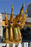 View to dragons of the Thailand pavilion of the EXPO Milano 2015. Stock Photo