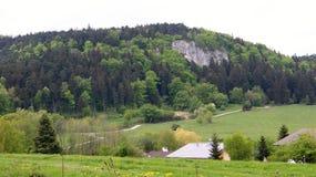 View to Dreistetten, Hohe wand, Royalty Free Stock Photos