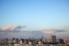Downtown Tel-Aviv Skyline Royalty Free Stock Photo