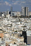 Downtown Tel-Aviv Skyline Stock Photography