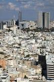 Downtown Tel-Aviv Skyline Stock Photography