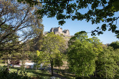 View to Edinburgh Castle Royalty Free Stock Image