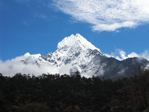 View to Everest Stock Photo