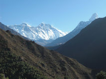 View to Everest Royalty Free Stock Photography