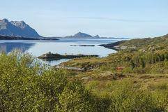 View to fjord in Norway, Stock Photography
