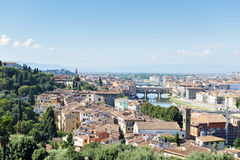 View to Florence Stock Photography