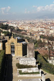 View to Florence from San Miniato al Monte Royalty Free Stock Image