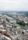 View to Frankfurt am Main Stock Photography