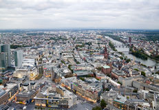 View to Frankfurt am Main Royalty Free Stock Photography