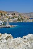View to Gialos Royalty Free Stock Photos
