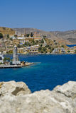 View to Gialos Stock Images
