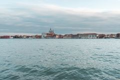 View to Giudecca district royalty free stock photo