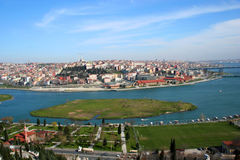 A view to Golden Horn Istanbul Stock Photography