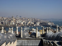 View to the Golden Horn , Istanbul, Turkey Stock Photos