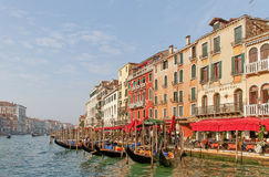 View to the Grand canal. Royalty Free Stock Photography