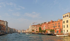 View to the Grand canal. Stock Images