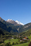 View To Grossglockner Highest Mountain In Austria 3.798m From Heiligenblut Stock Photos
