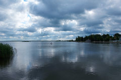 View to haapsalu promenad Royalty Free Stock Images