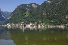 View To Hallstatt In Salzkammergut Royalty Free Stock Images