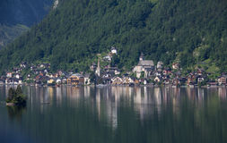 View To Hallstatt In Salzkammergut Stock Photography