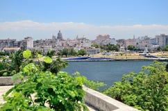 View to Havana, Cuba Royalty Free Stock Photos