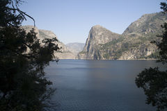 View to Hetch Hetchy Reservoir Royalty Free Stock Photo