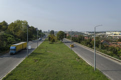 View to highway Ruse-Sofia Stock Image