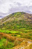View to hill in Snowdonia National Park in North Wales Royalty Free Stock Images