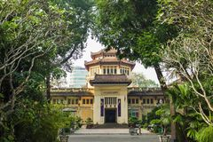 View to Historical Museum of Ho Chi Minh City, Vietnam Stock Image