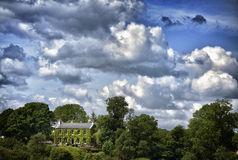 View to Irish house on River Shannon Stock Images