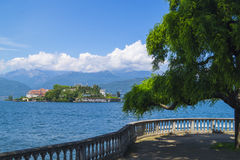 View to Isola Bella. Stresa, Italy Royalty Free Stock Photo
