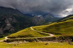 View to Italian alps Stock Image