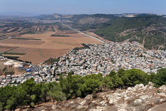 View to Izrael Valley Royalty Free Stock Photo