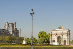 View to Jardin des Tuileries. Stock Photo