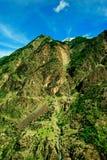 View to karakoram highway and valley, Pakistan Stock Photos