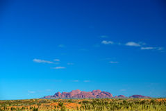 View to Kata Tjuta Royalty Free Stock Photo