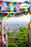 View to Kathmandu Royalty Free Stock Images