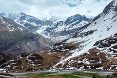 View to Kaunertal Gletscher (Austria) Stock Photos