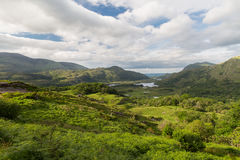 View to Killarney National Park valley in ireland Stock Image