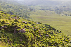 View to Killarney National Park valley in ireland Royalty Free Stock Images