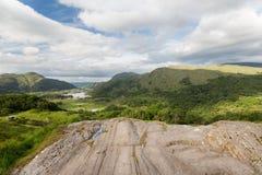 View to Killarney National Park valley in ireland Stock Photos