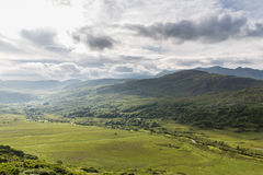 View to Killarney National Park valley in ireland Royalty Free Stock Photo