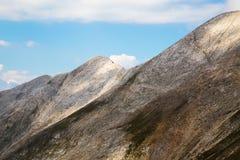 View to Koncheto saddle and Banski suhodol peak Stock Photography