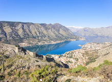 A view to Kotor Royalty Free Stock Photo