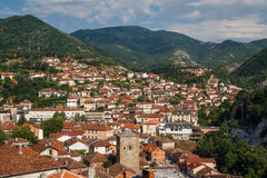 View to Kratovo small town Stock Photography