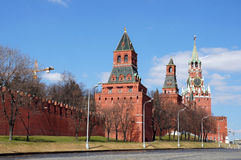 View to Kremlin, Moscow, Russia Royalty Free Stock Images