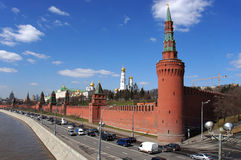 View to Kremlin, Moscow, Russia Stock Photography